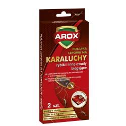 AG-AROX PUŁAPKA LEPOWA NA KARALUCHY 2szt.