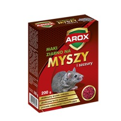 AG-AROX ZIARNO NA MYSZY I SZCZURY 200G
